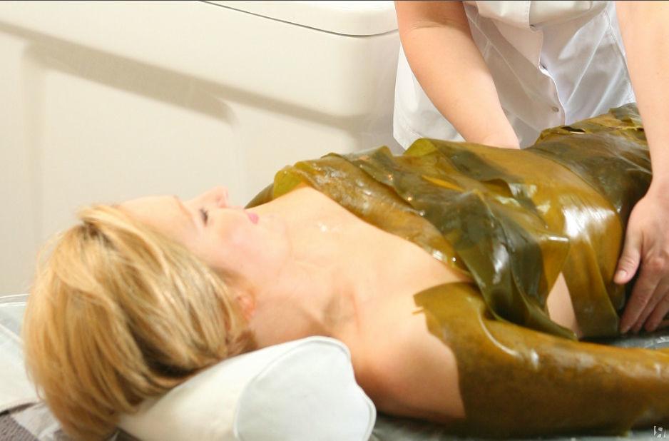 Фото и отзывы о Обёртывание водорослями для похудения