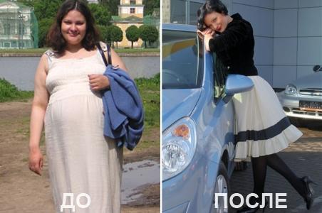 Фото диета минус 60 до и после