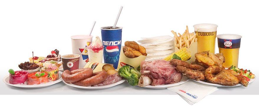 Фото очень вредных продуктов питания
