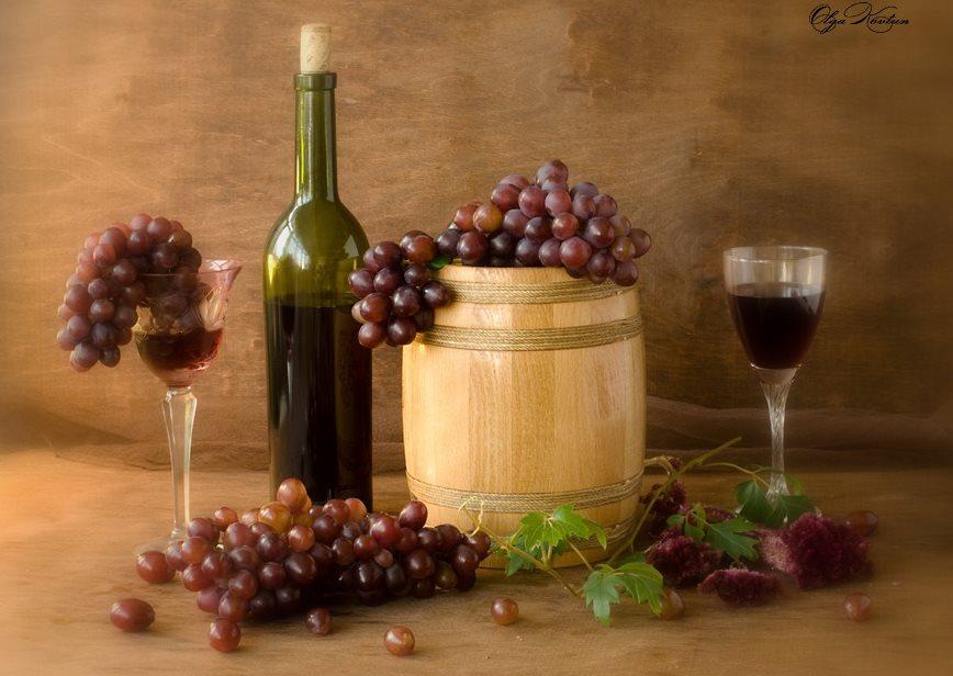 Фото как сделать красное вино из белого винограда в домашних условиях