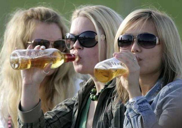Фото вред пива для организма женщины
