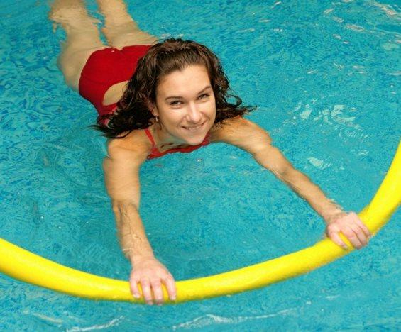 Фото - Аквааэробика и плавание для похудения