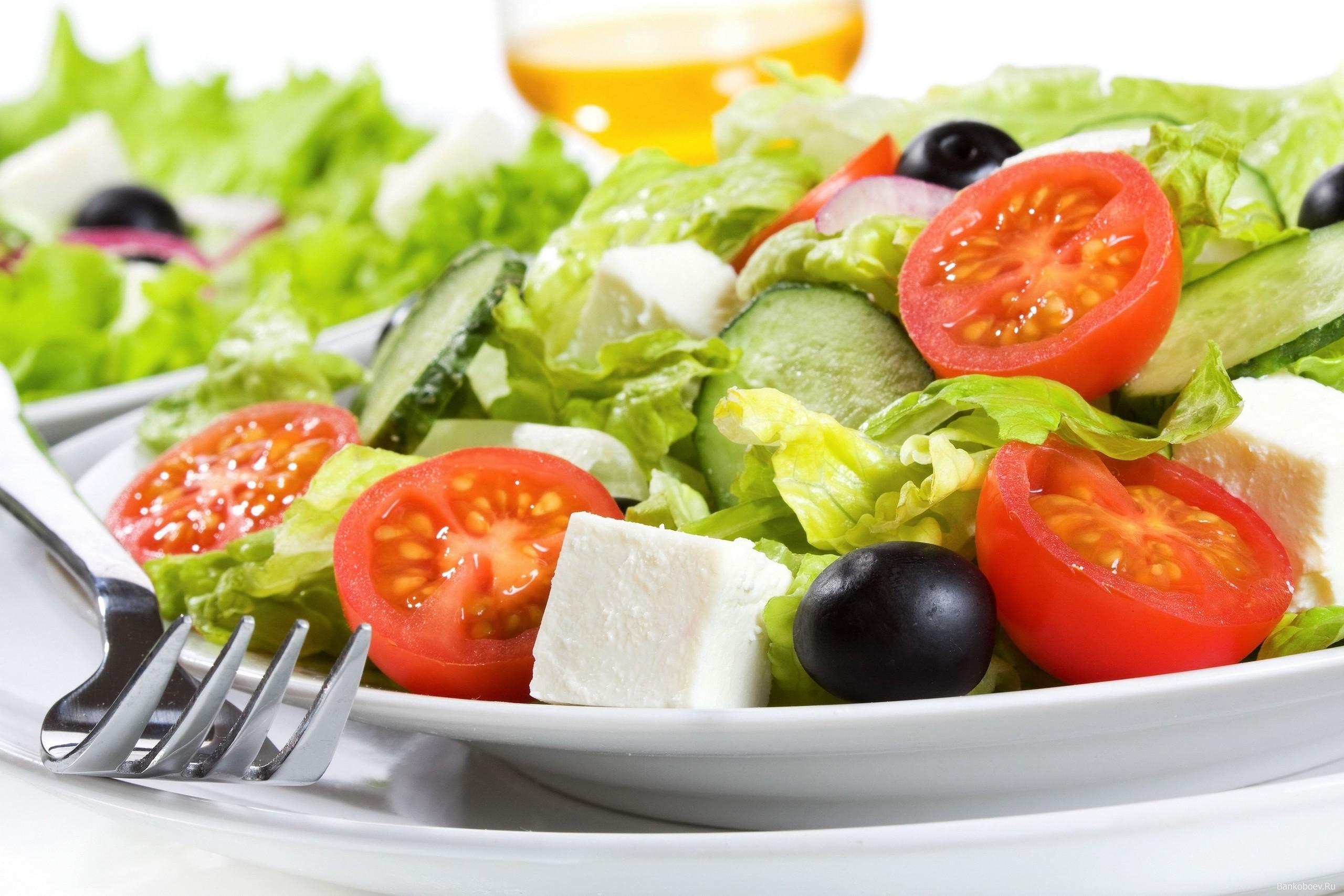 Фото овощной салат