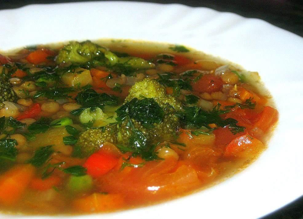 Фото  сельдереевый суп