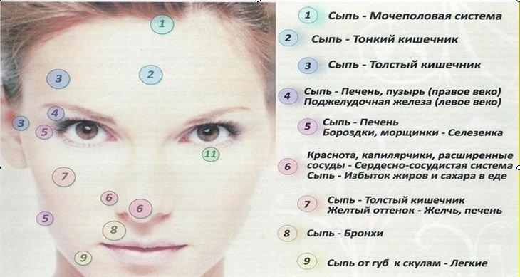 Косметологи придерживаются мнения, что причин для появления высыпаний на к.