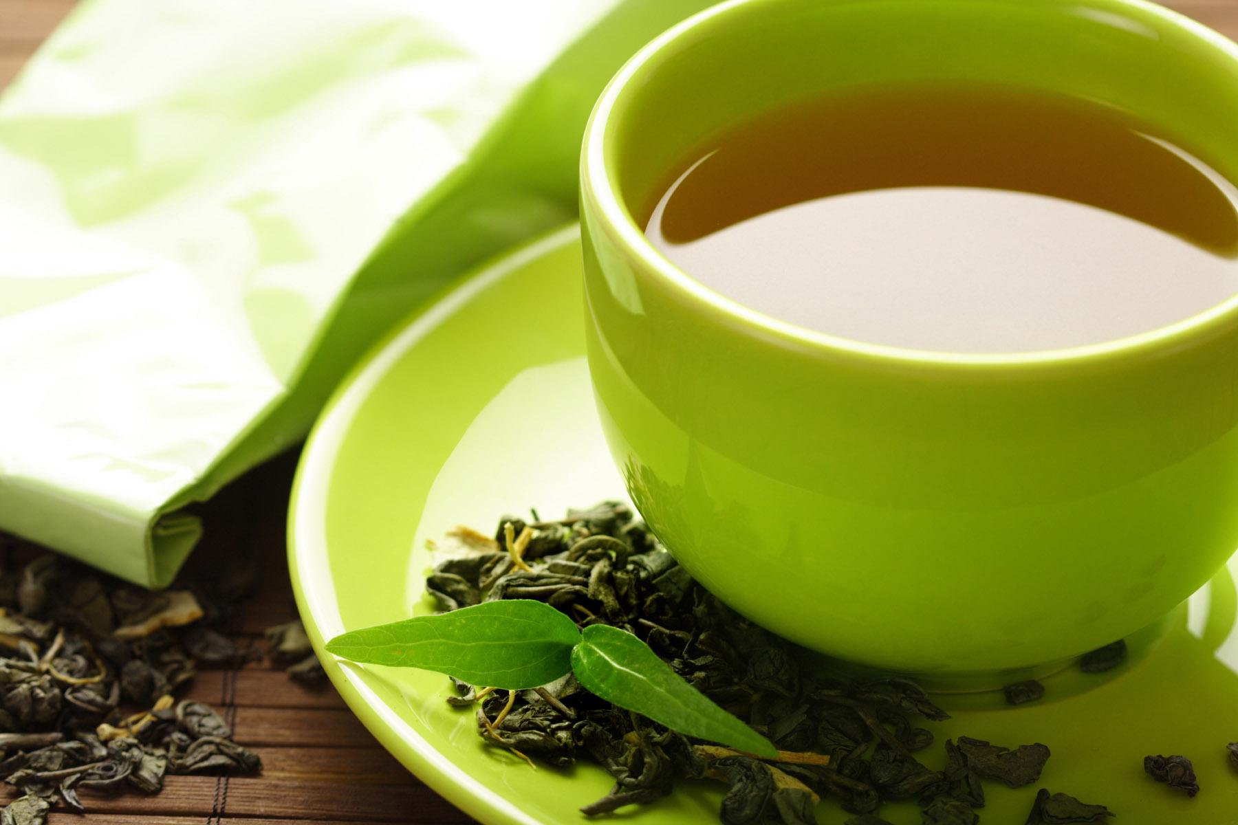 Может ли из за зеленого чая болеть голова