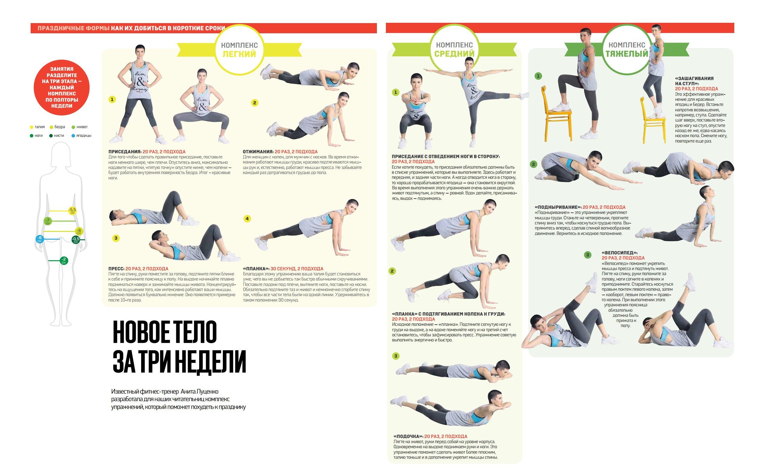Упражнение йога для похудения и пресса