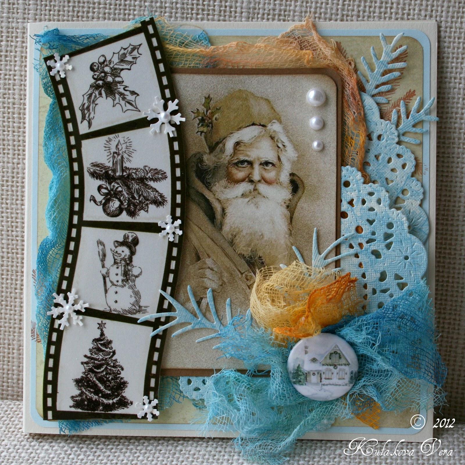 Новогодние открытки своими руками с фотографией