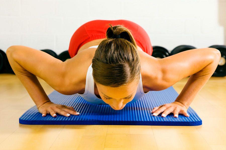 Фото на тему: Простые упражнения при большой груди