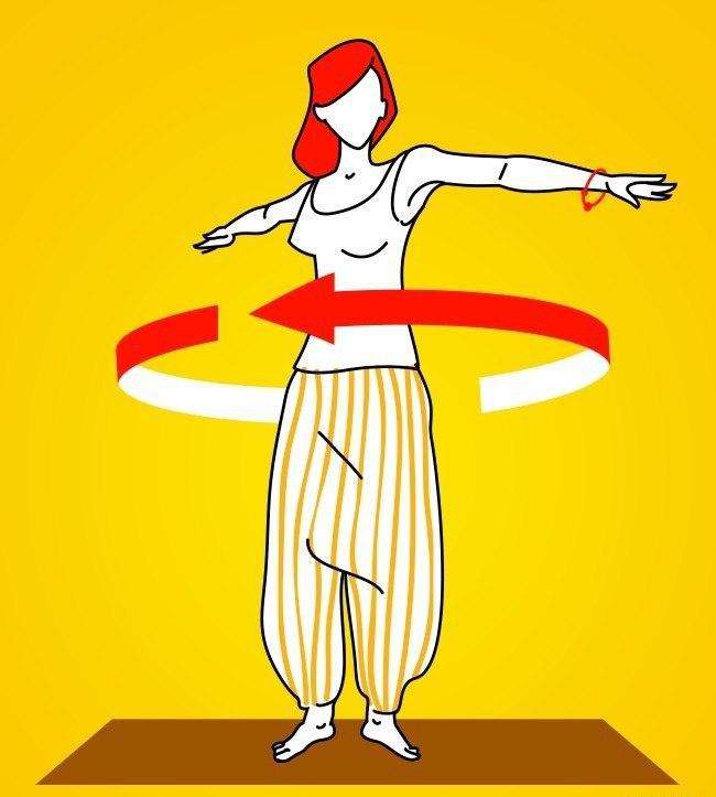 Фото на тему: 5 тибетских упражнений, чтобы проработать мышцы за 10 минут