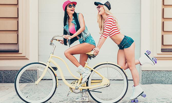 Фото на тему: Что лучше: ролики или велосипед? Чтобы похудели и подкачались ноги