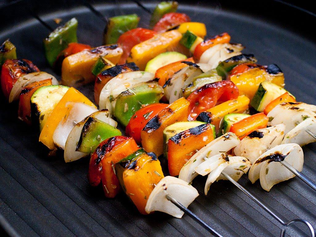 Фото на тему: Диетические рецепты маринада для овощей на гриле или мангале для природы