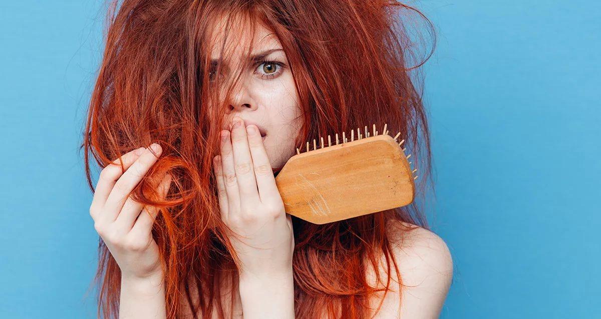 Фото на тему: Сильно путаются волосы. Что делать?
