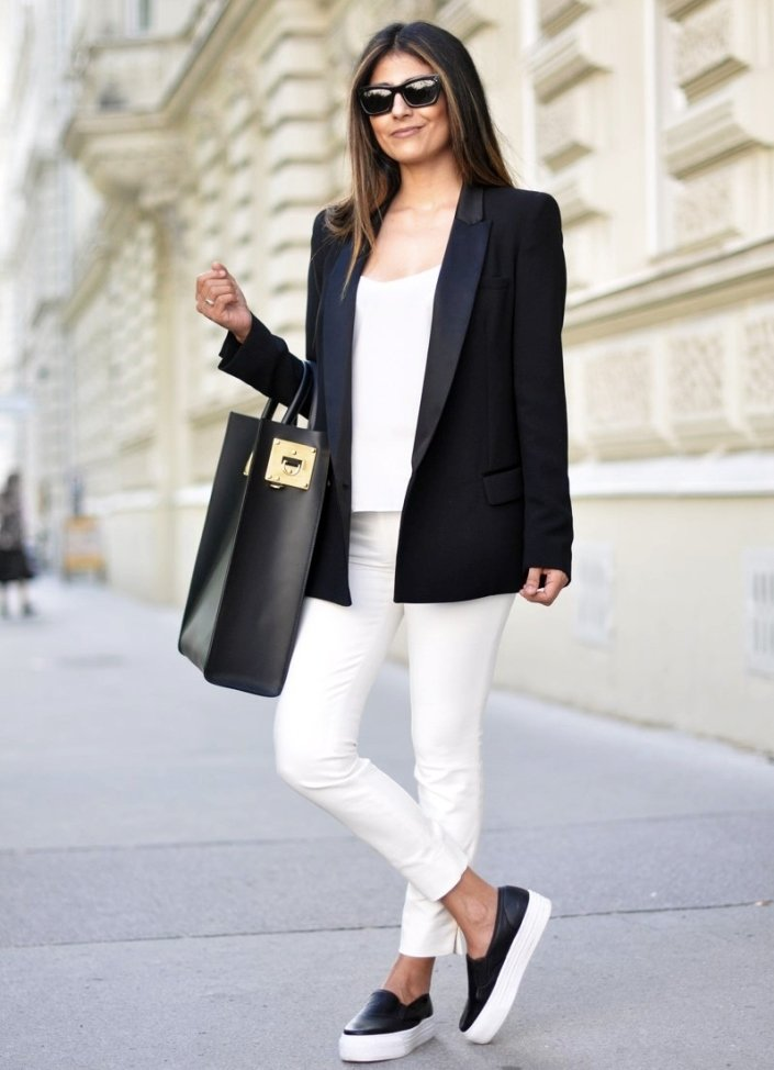 Картинка по теме: С чем носить кроссовки девушке весной. Советы