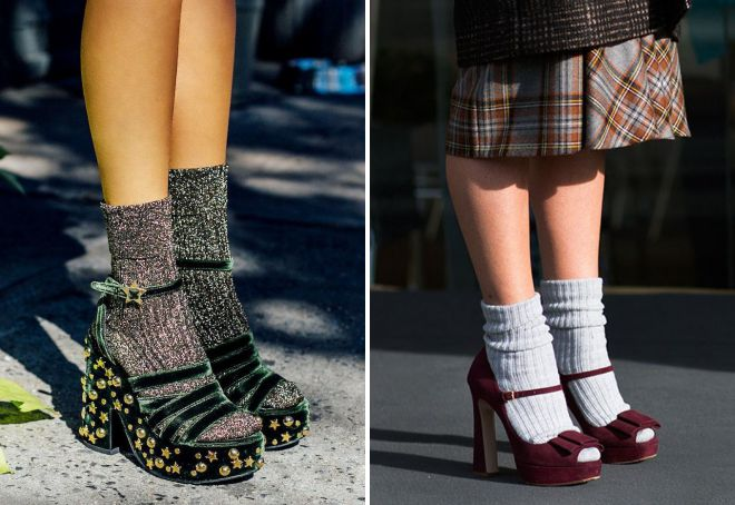 Картинка по теме: Как правильно носить босоножки с носками? Какой наряд подобрать к ним?