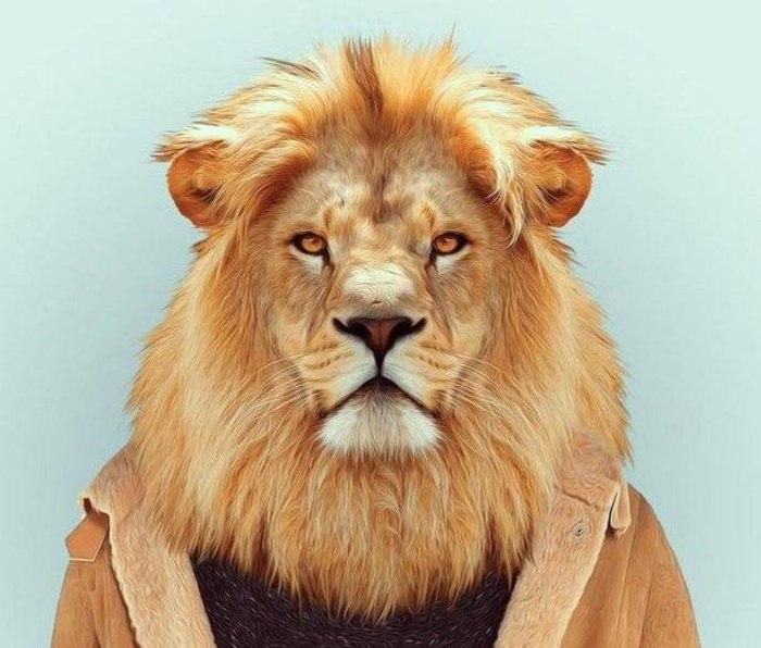 Секс мужчины льва