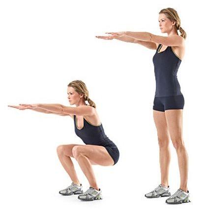 Упражнения для похудения ног с внутренней стороны фото
