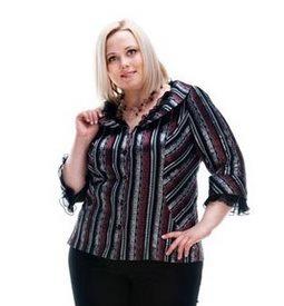 Фото - Модели блузок для полных женщин