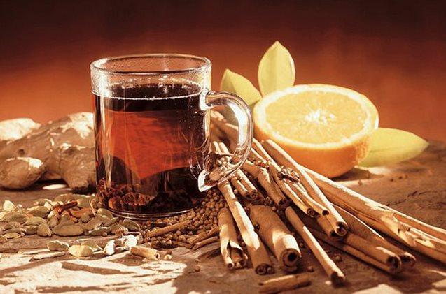 Фото рецепта приготовления грога - горячего алкогольного напитка