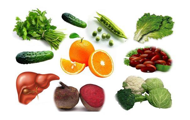 Фото в каких продуктах питания содержится больше всего фолиевой кислоты