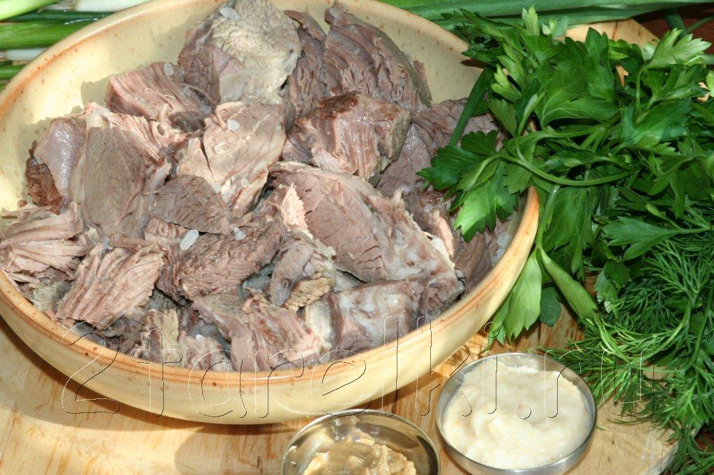 Отварное мясо рецепты