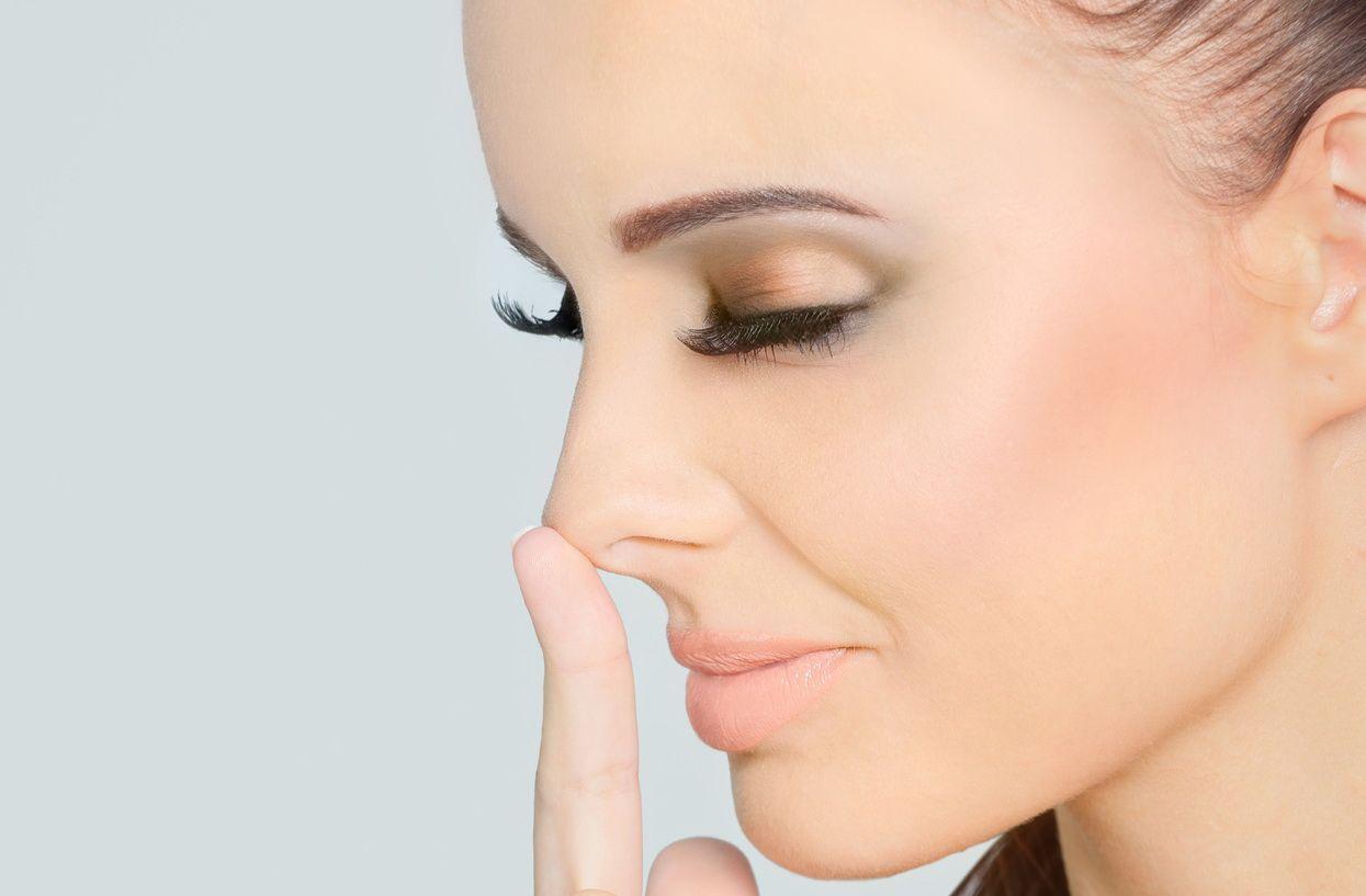 как избавиться от ямочки на кончике носа
