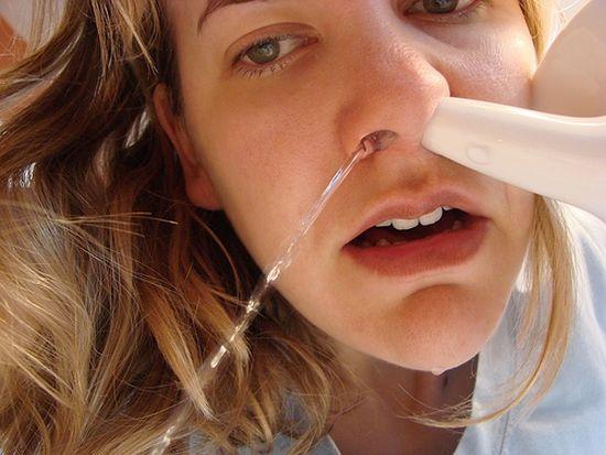 Фото - Морская соль для носа и его промывания