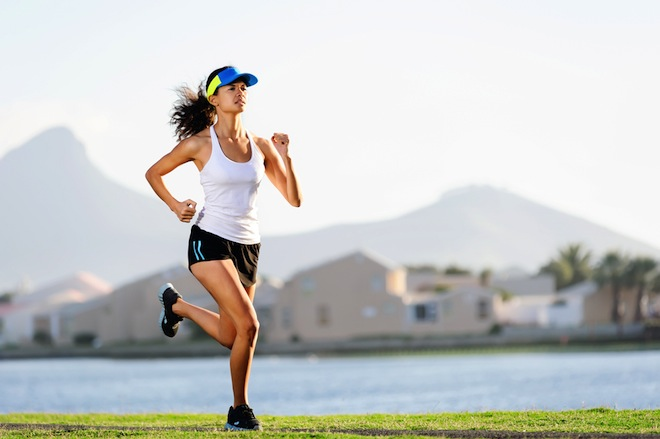 как бегать на месте чтобы похудеть