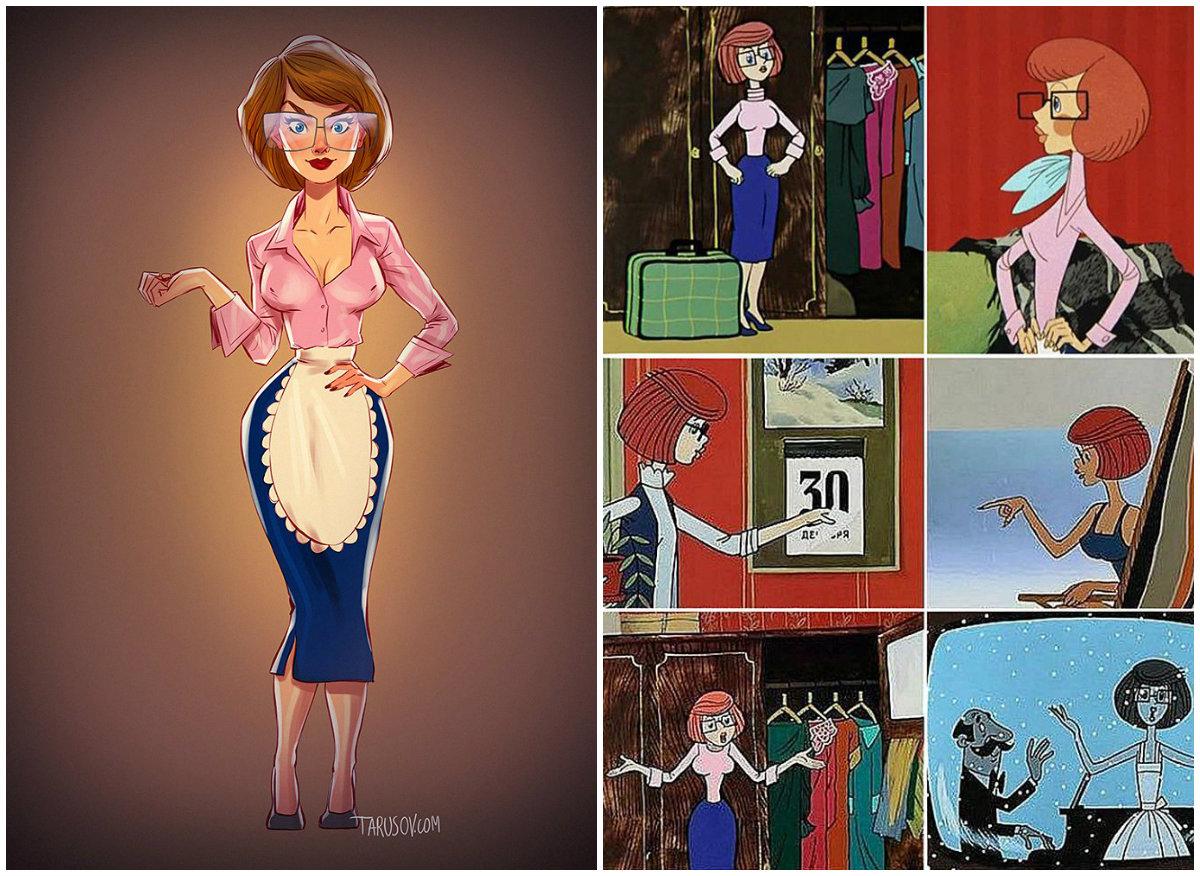 Рисованные толстые девушки 6 фотография