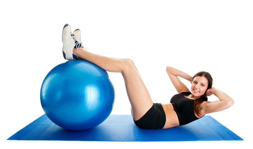 Как быстро похудеть с фитболом фото 1