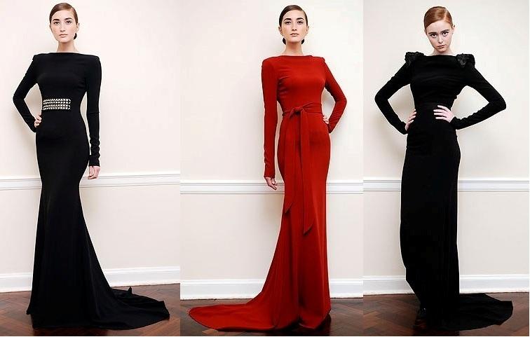 bf17c39e0bb Каталог длинных черных платьев вечерних - Модадром