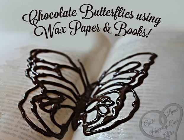 Фото на тему: Как сделать шоколадных бабочек на торт?
