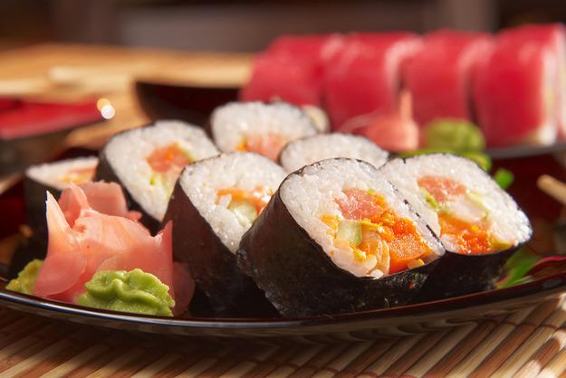 как приготовить суши описанич