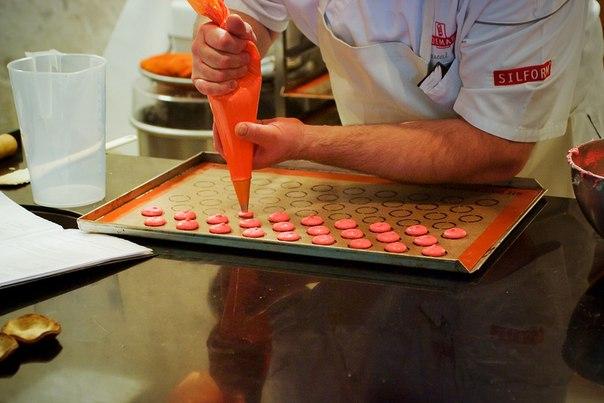 рецепт макарони пирожное пошаговый рецепт с фото