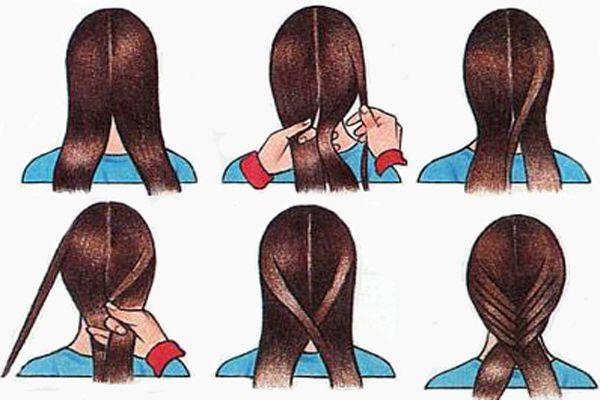 Как заплести две косички по бокам: советы 100