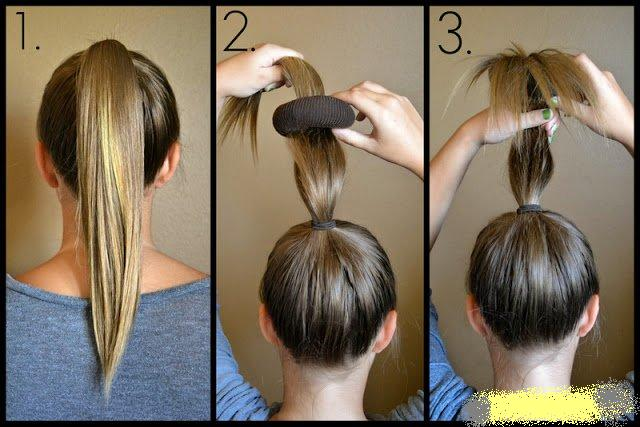 Как сделать какашку на голове