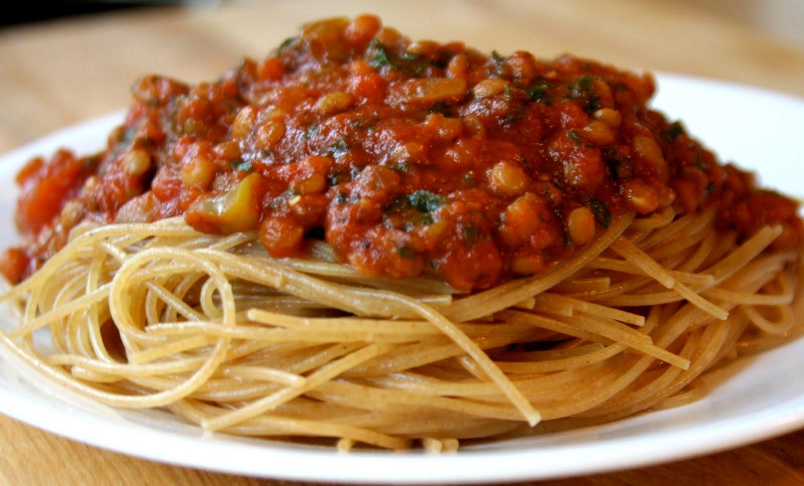 Спагетти с мясным соусом рецепт с фото