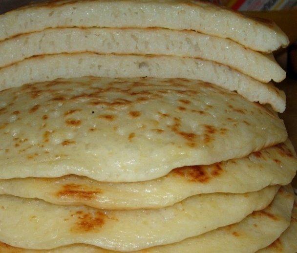 рецепт толстых блинов на кефире