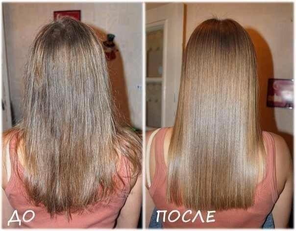 Рецепт желатинового ламинирования волос Красота 27