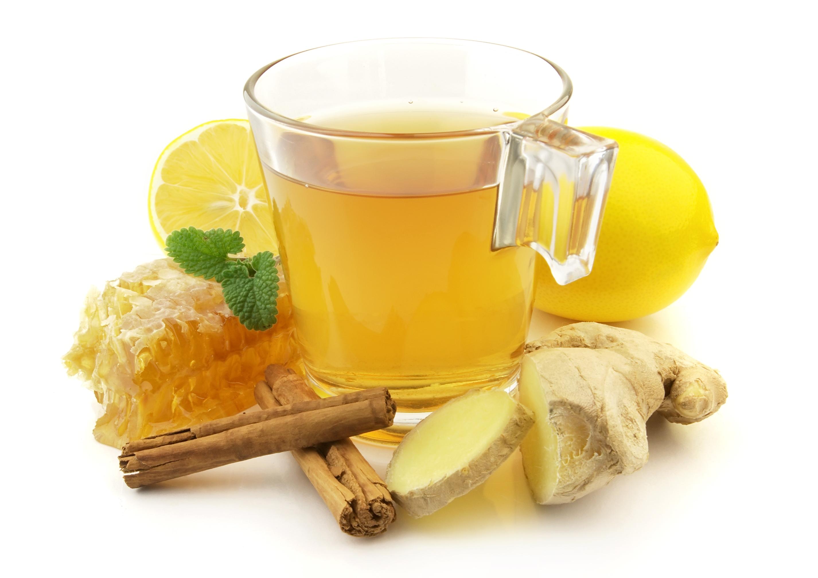 Картинка по теме: Чай с лимоном и имбирем для похудения