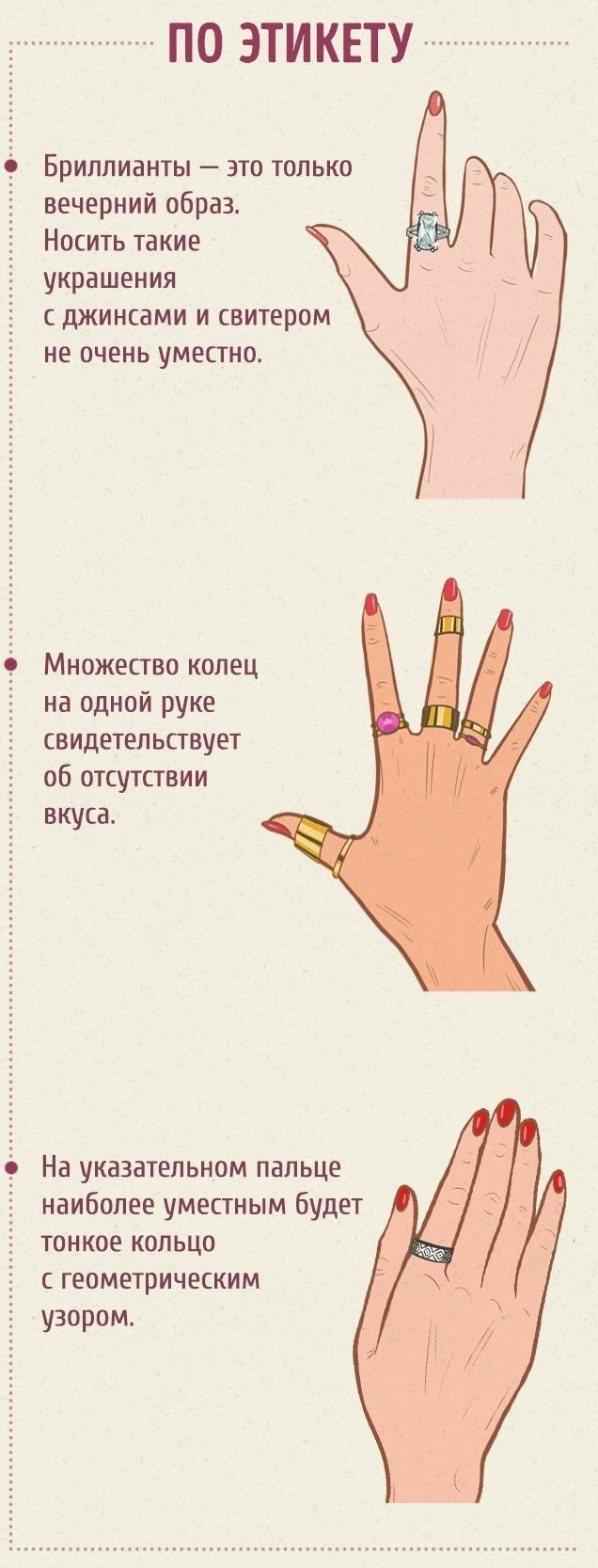 Что обозначает носить кольцо на большом пальце