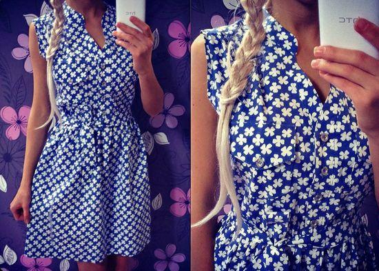 Летние платья из хб ткани