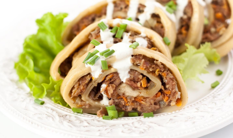 ханум с мясом и картошкой рецепт с фото в мантоварке