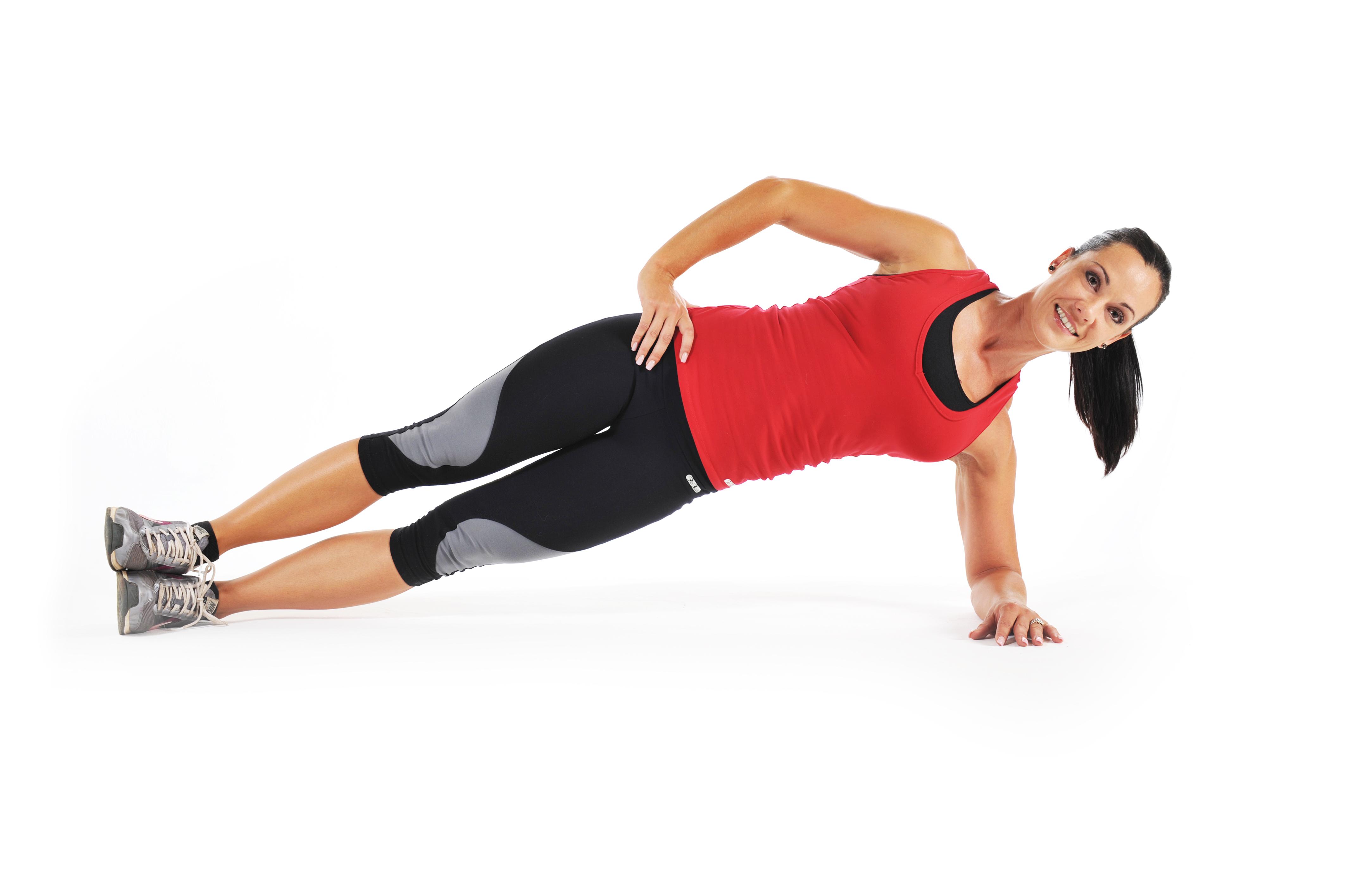 Как накачать боковые мышцы пресса 22