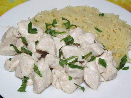 филе куриное в сливках на сковороде рецепт