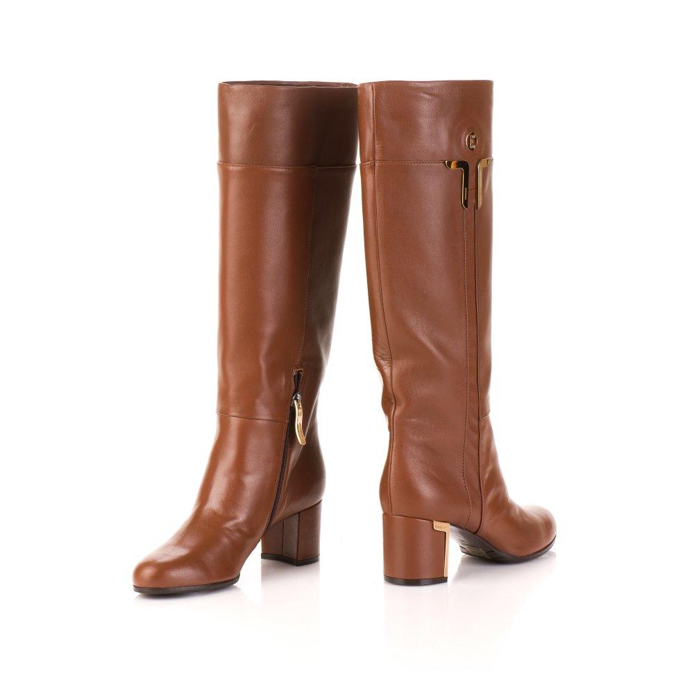 Купить кожаные сапоги женские интернет
