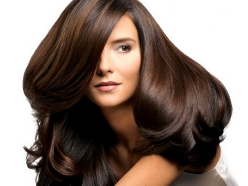 Тонирование волос в шоколадный цвет