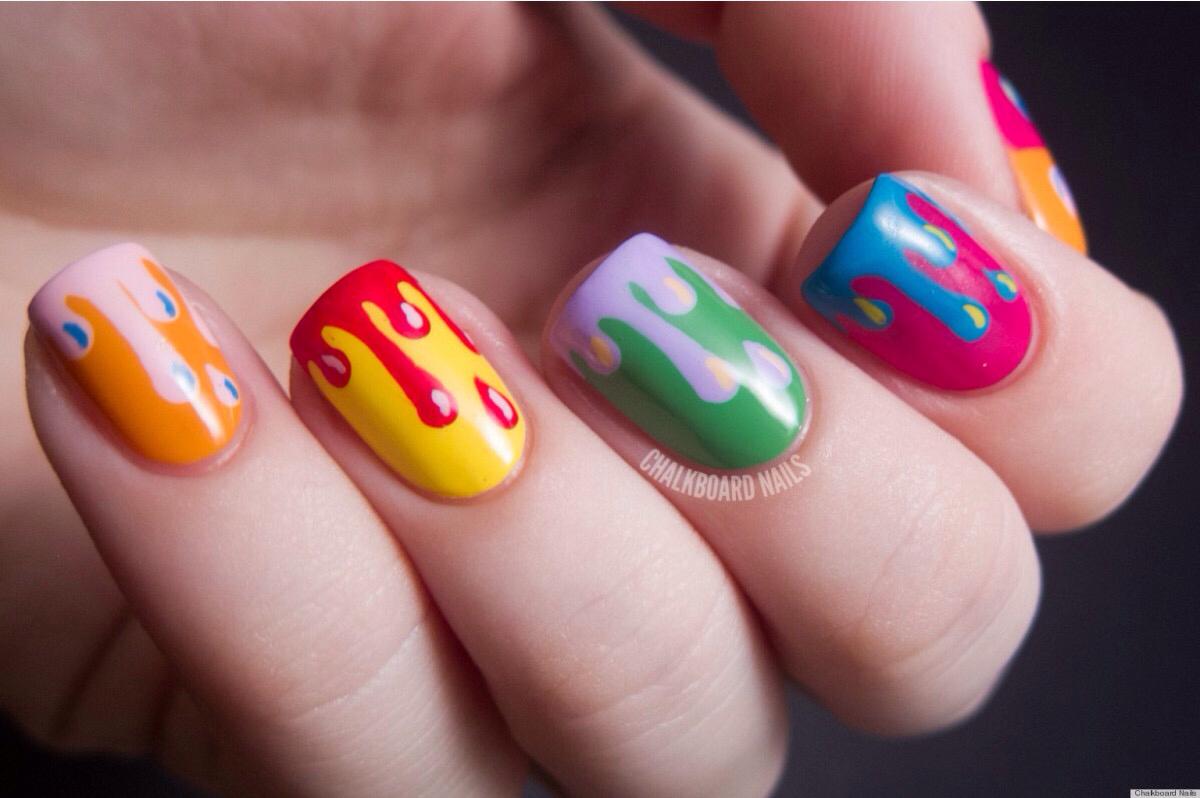Картинка по теме: Блог Кристины: идеи маникюра в домашних условиях на короткие ногти