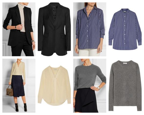 Фото на тему: Что такое базовый гардероб. Для женщин