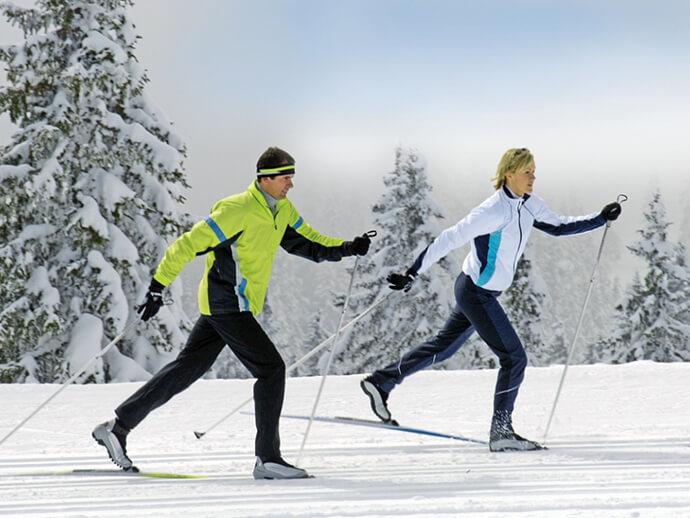 Фото на тему: Катание на лыжах и польза для похудения